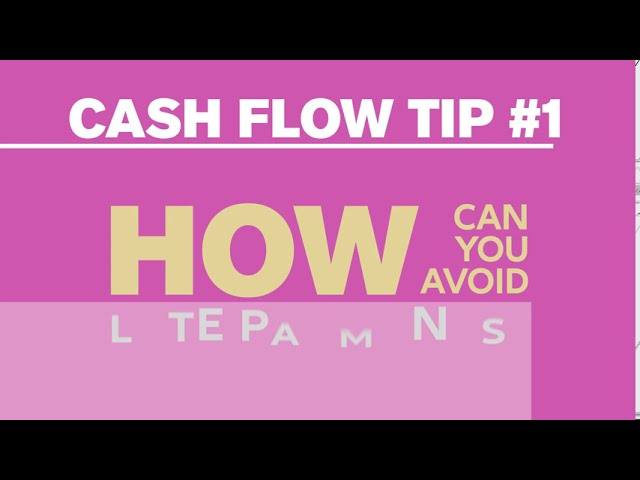 Discover our cash flow tips and protect your business with confidence