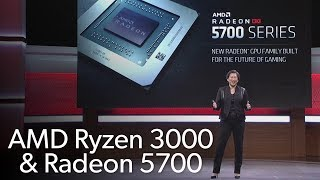 AMD's E3 2019 hardware announcement highlights