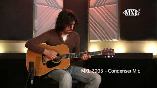 MXL 2003 - Acoustic Guitar Demo