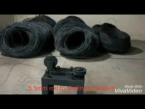 MS Black Binding Centering Wire Making Machine