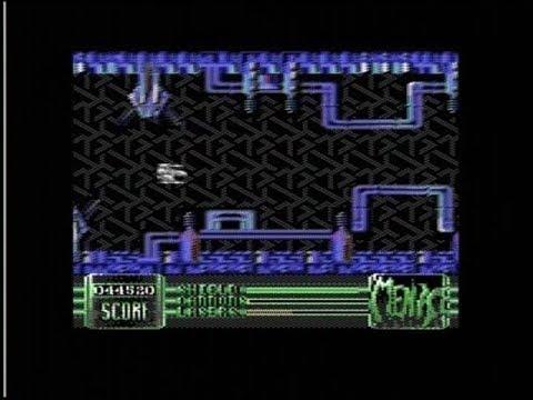 MENACE Commodore 64 bolti (UK) játék floppylemez eredeti kiadású dobozában iratokkal működő! 1Ft