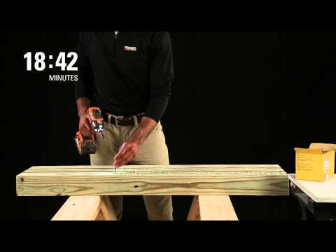 Runtime Test: GEN5X 18v Impact Driver