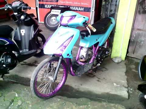 Suzuki Spin 2009 Modif Jari Jari, Scotlet Lampu, Body Custom, Rangka Ungu, Body STREET RACING Mp3