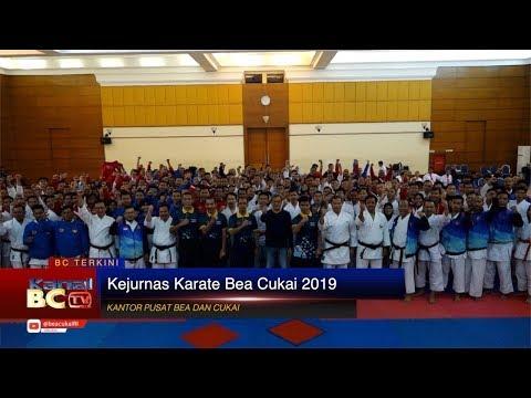 Kejurnas Karate Bea Cukai 2019