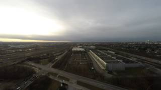 preview picture of video '2015-01-15 Sunset over Munich'