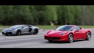 Lamborghini CENTENARIO vs Ferrari F12tdf Drag Race | Forza Horizon on la ferrari vs corvette, la ferrari vs koenigsegg, la ferrari vs bugatti, la ferrari vs mustang,