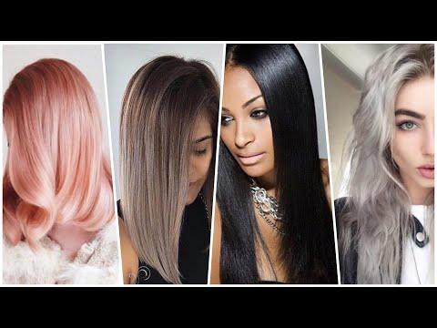 Модный цвет волос 2019 года. Или тренды на цвет.