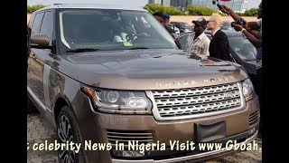 Small Doctor Storms Oritsefemi's Wedding With His 2017 Range-Rover As The BEST MAN,With Junior Boy