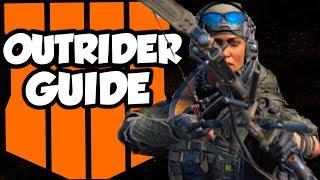 "Black Ops 4: ""Outrider"" Specialist Guide [Stealthy Slayer & Scorestreak Destroyer]"