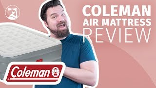 Coleman Air Mattress Review - Great For Inside And Outside?
