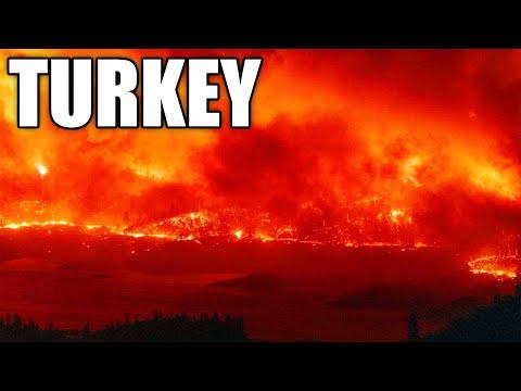 🔥 Turkije brandt met hellevuur! 📣 Evacuatie in Istanbul, Antalya en Marmaris! (DEW?)