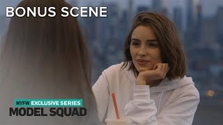 Olivia Culpo Feels Overwhelmed Over Insanely Busy Schedule | Model Squad | E! - Video Youtube