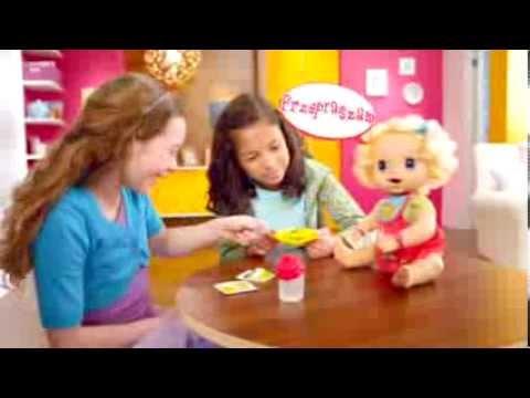 Hasbro Baby Alive Lalka Interaktywna Moja Lala | zabawkiTV