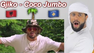ARAB REACTION TO ALBANIAN MUSIC BY GJIKO   🌴COCO JUMBO 🌴 **UNEXPECTED**
