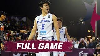 Qatar vs. Philippines - Exhibition Full Game - 2015 FIBA 3x3 All Stars