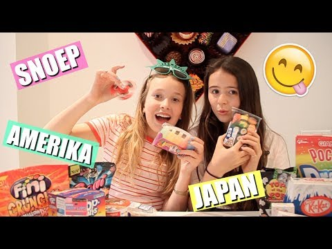 Gek Snoep Proeven Uit Amerika En Japan En Grappige Items Uitproberen