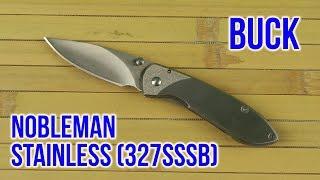 Buck Nobleman (0327SSS-B) - відео 1