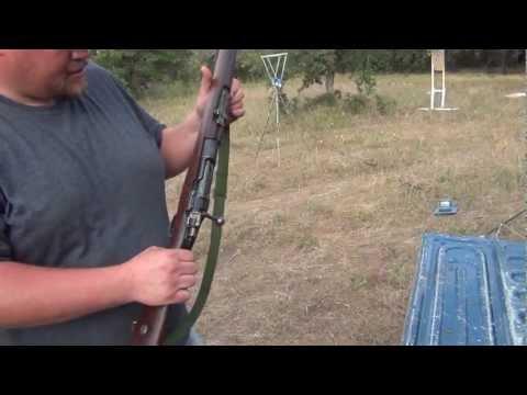 Shooting the WW2 Turkish Mauser 8mm - смотреть онлайн на Hah
