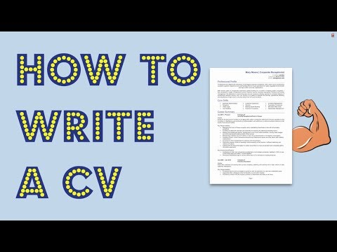 How To Write A CV In 2018 [Get Noticed By Employers] Mp3