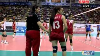 Thailand - Tunisia [Set 2] Girls' U18 World Championship 30-07-2013