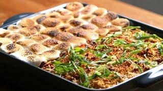 Sweet & Savory Sweet Potato Casserole