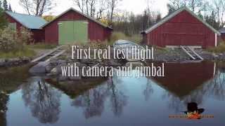 Agasam Film - Testing aerial cam.