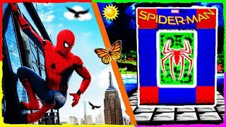 Minecraft - How to Make a Portal to SPIDER-MAN HOMECOMING