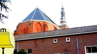 preview picture of video 'Leiden Zuid-Holland: Kerkklok Katholieke Lodewijkskerk (uurslag, angelus en luiden)'