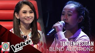 TenTen Pesigan - Killing Me Softly | Blind Audition | The Voice Teens Philippines 2020