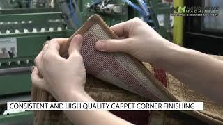 Automatisch afwerken tapijthoeken