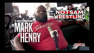 Mark Henry - New WWE Role, Sam's Bianca Belair Apology, Vince McMahon crying, etc - Notsam Wrestling
