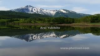 鳥海山の動画素材, 4K写真素材