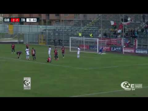 Gubbio - Triestina: Highlights