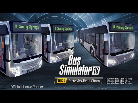 Bus Simulator 16 - Mercedes-Benz Citaro Pack