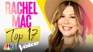 "Rachel Mac Performs Kacey Musgraves' ""Rainbow"" - The Voice Live Top 17 Performances 2021"