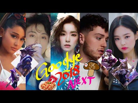 Year End Mashup: GOODBYE 2018, NEXT (80+ HITS POP/KPOP Songs)