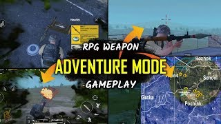 ADVENTURE MODE Gameplay | New Zombie Mode | RPG - 7 |  PUBG Mobile 0.12 Update