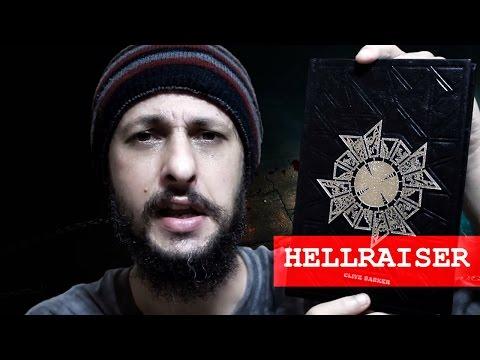 Resenha - Livro  Hellraiser renascido do Inferno