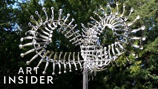 How These Metal Sculptures Move With The Wind