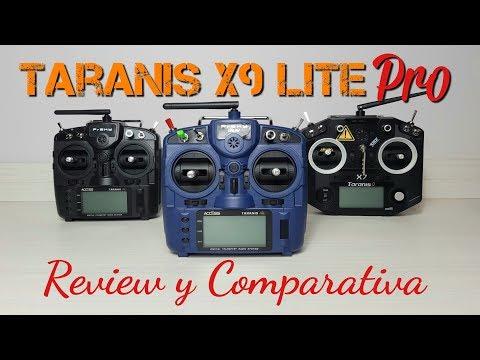 Review y comparativa: Taranis X9 Lite PRO vs X7 y X9 Lite