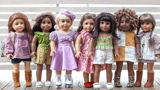 Sewing Vintage-Inspired American Girl Doll Dresses With Patterns And Adjustments