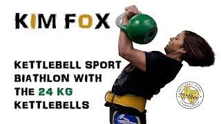 Kim Fox | Kettlebell sport biathlon with the 24 kg kettlebells (Texas, 2018)