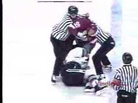 David Maley vs. Keith Primeau