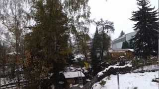 preview picture of video '2012-10-30 Winter in Annaberg-Buchholz'