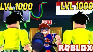 GOING AGAINST AN ELITE (LVL 1000+) TEAM IN ROBLOX FLEE THE FACILITY!