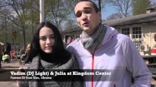 Famous DJ, Vadim (DJ Light) from Ukraine shares his vision