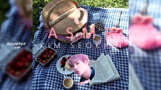 [BTS ASMR/역잠소]  Accompany KIM SEOKJIN to a Picnic 🌼Relax & Sleep [8D USE HEADPHONE] 🎧