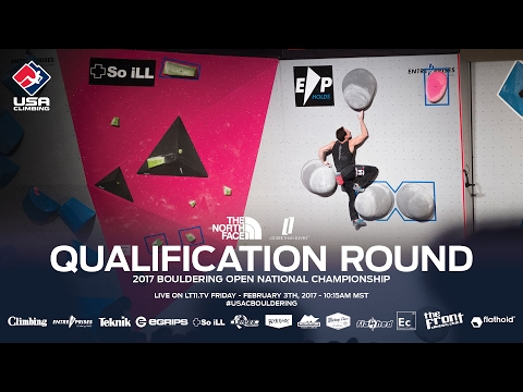 Qualification Round - 2017 Bouldering Open National Championship
