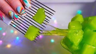 ASMR SLIME! 5 Satisfying Slimes For Sleep (ASMR No Talking)
