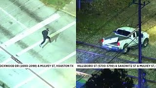 WATCH LIVE: Chase suspect makes run for it